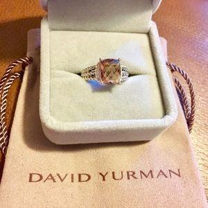 David Yurman Petite Wheaton Morganite